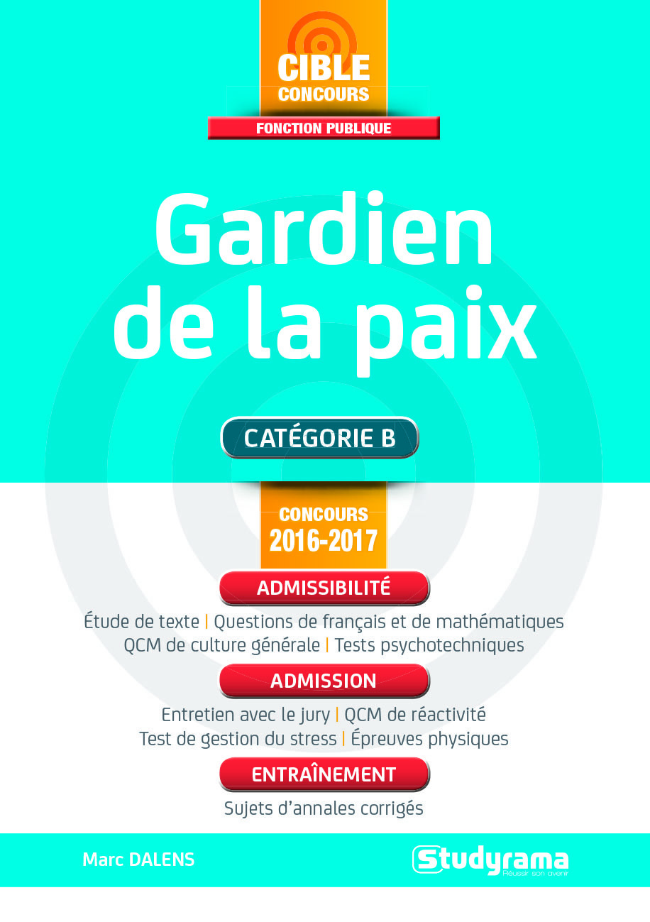 GARDIEN DE LA PAIX 2016-2017