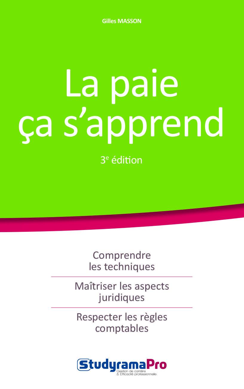 PAIE CA S'APPREND 3EME EDITION (LA)