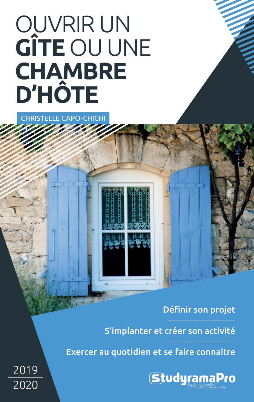 OUVRIR UN GITE OU UNE CHAMBRE D'HOTE 2019-2020