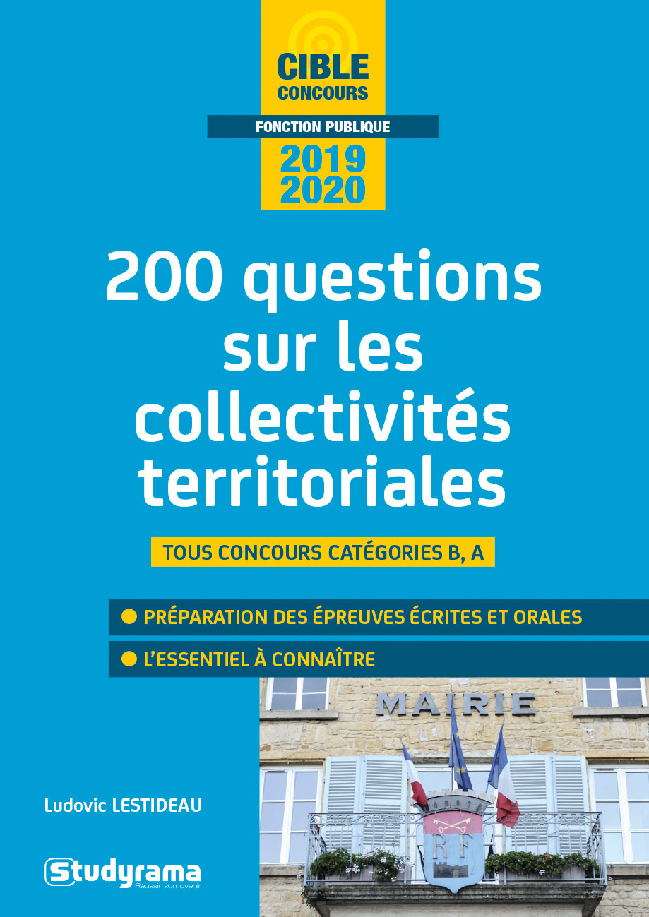 LES COLLECTIVITES TERRITORIALES 2020 200 QUESTIONS