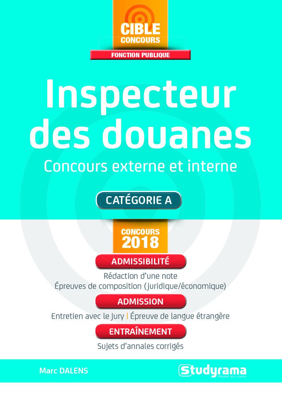INSPECTEUR DES DOUANES CONCOURS 2018