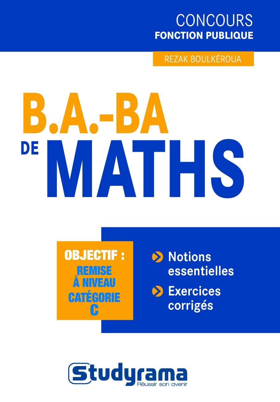 B.A. - BA DE MATHS 3 EDT
