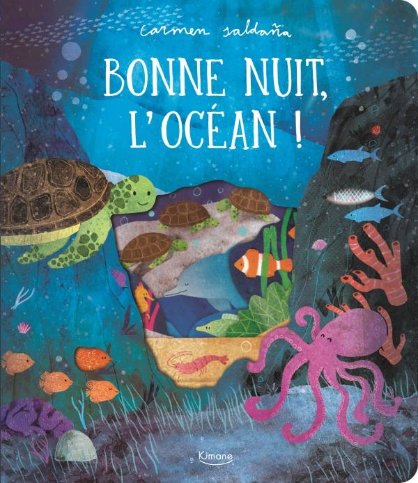 BONNE NUIT, L'OCEAN ! - AVEC DES DECOUPES A CHAQUE PAGE