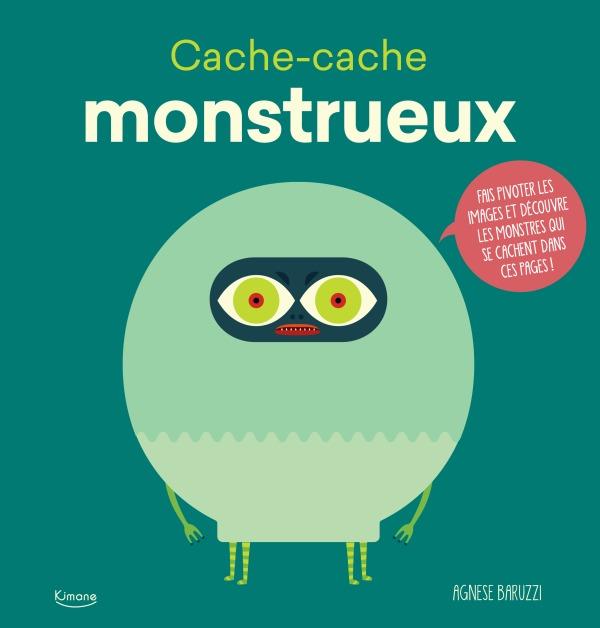 CACHE-CACHE MONSTRUEUX - FAIS PIVOTER LES IMAGES ET DECOUVRE LES MONSTRES QUI SE CACHENT DESSOUS !