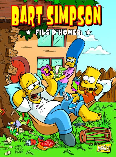 BART SIMPSON - TOME 3 FILS D'HOMER - VOL03