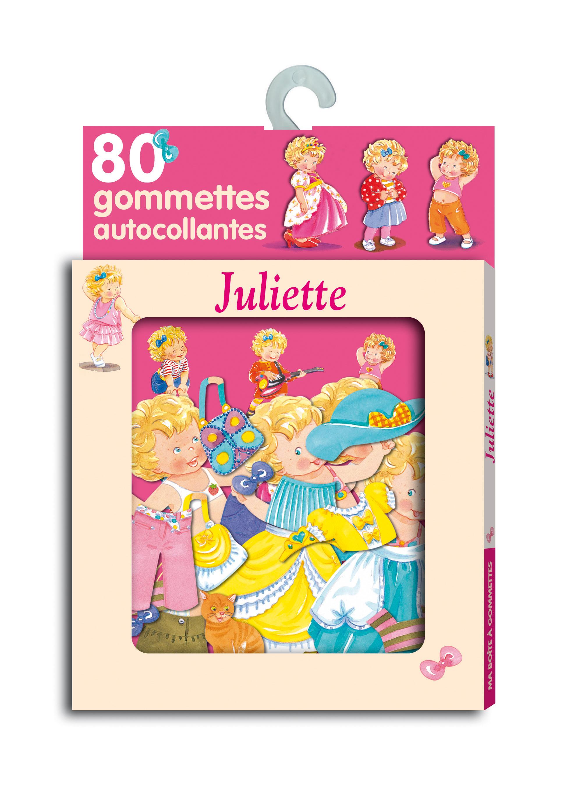 MA BOITE A GOMMETTES : JULIETTE