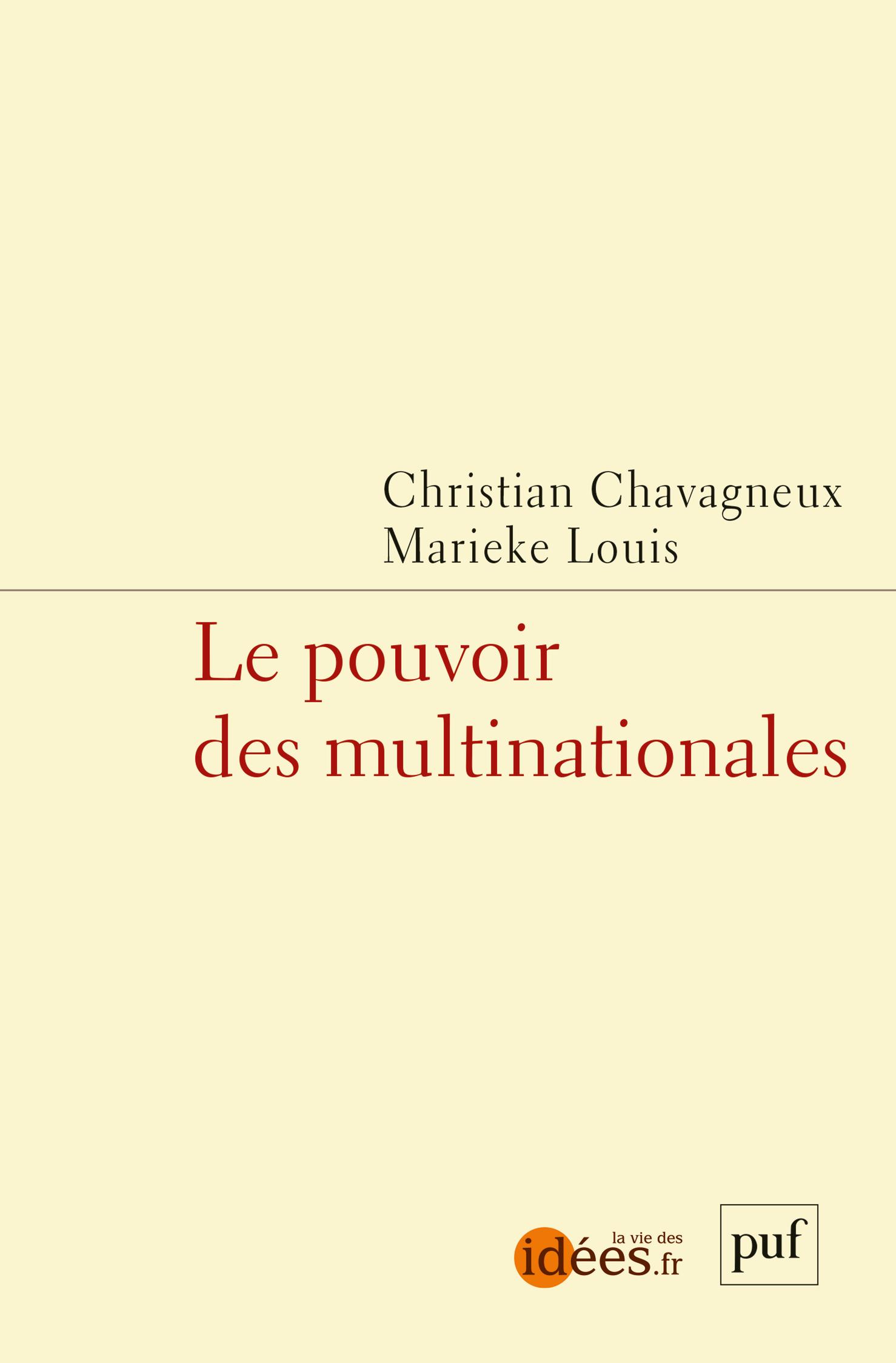 LE POUVOIR DES MULTINATIONALES