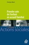 PRENDRE SOIN DE L'ENFANT EN ACCUEIL FAMILIAL