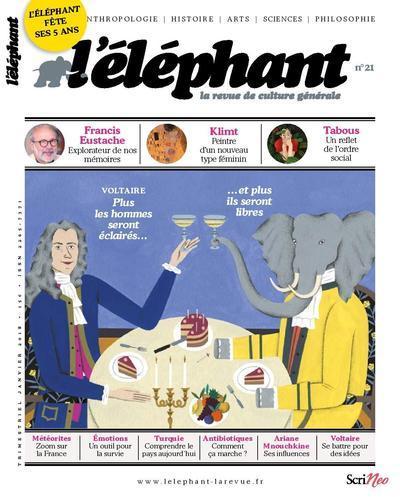 L'ELEPHANT - LA REVUE DE CULTURE GENERALE - NUMERO 21 - VOLUME 21