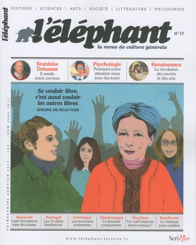L'ELEPHANT - LA REVUE DE CULTURE GENERALE - NUMERO 17 - 01/2017 - VOLUME 17