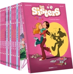 PACK 13 EX. SERIE LES SISTERS 2019