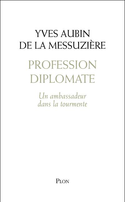 PROFESSION DIPLOMATE - UN AMBASSADEUR DANS LA TOURMENTE