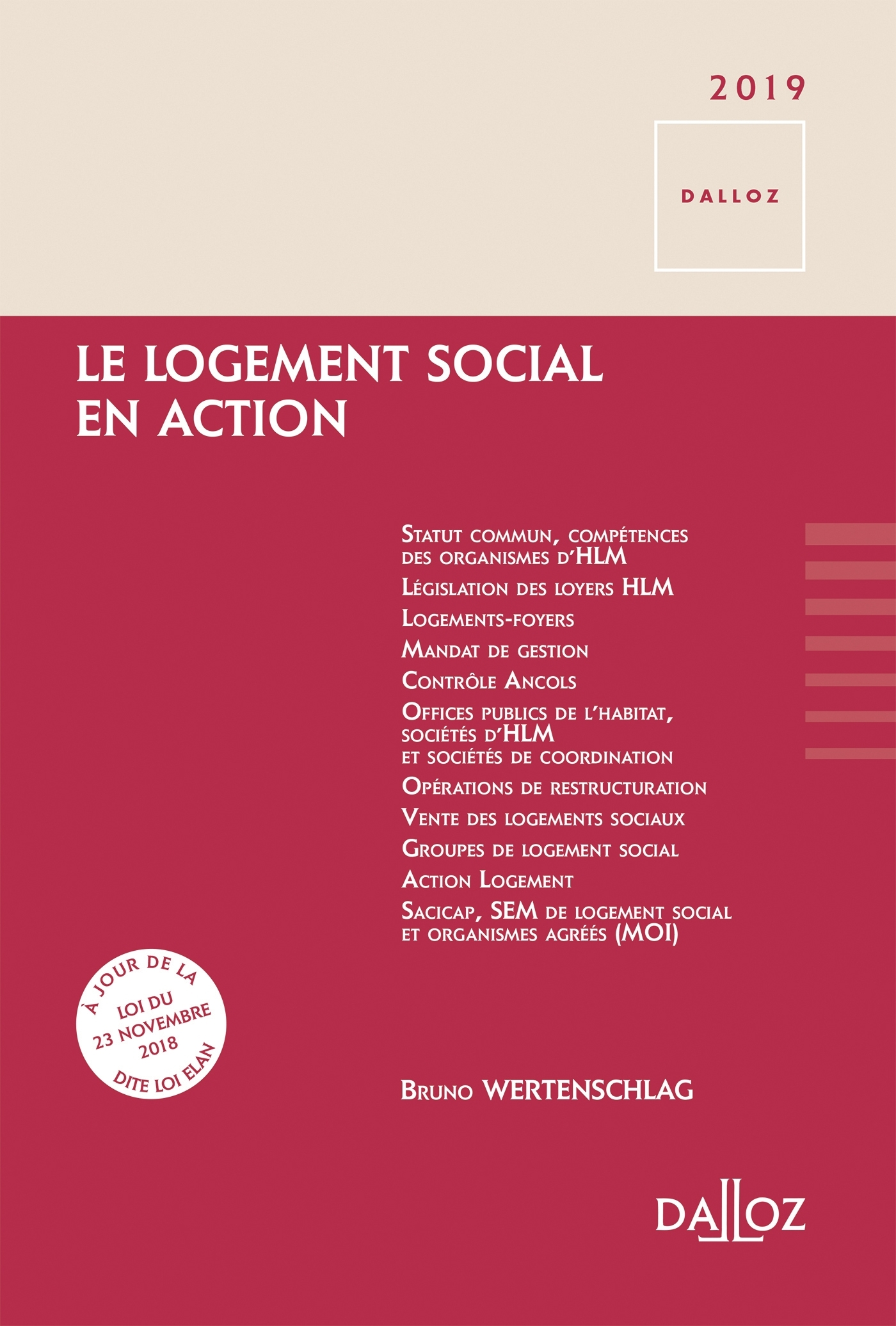 LE LOGEMENT SOCIAL EN ACTION - NOUVEAUTE