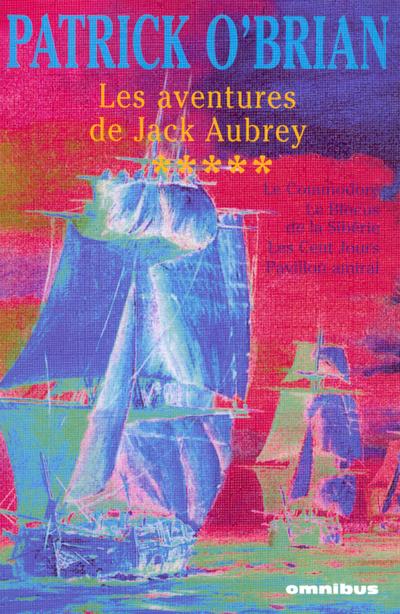 PACK AVENTURES JACK AUBREY T5 - VOL5