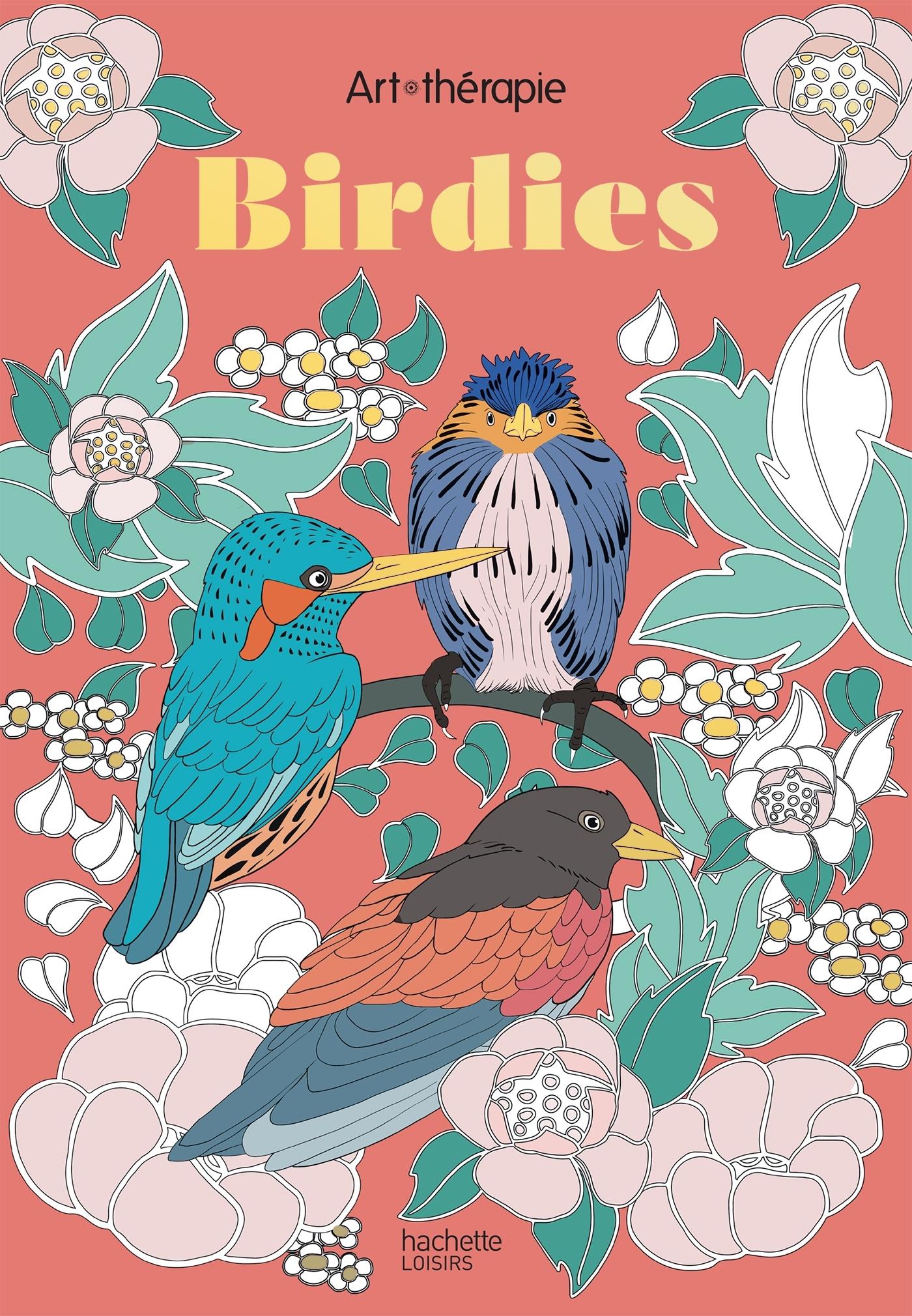 LES PETITS BLOCS D'ART-THERAPIE BIRDIES