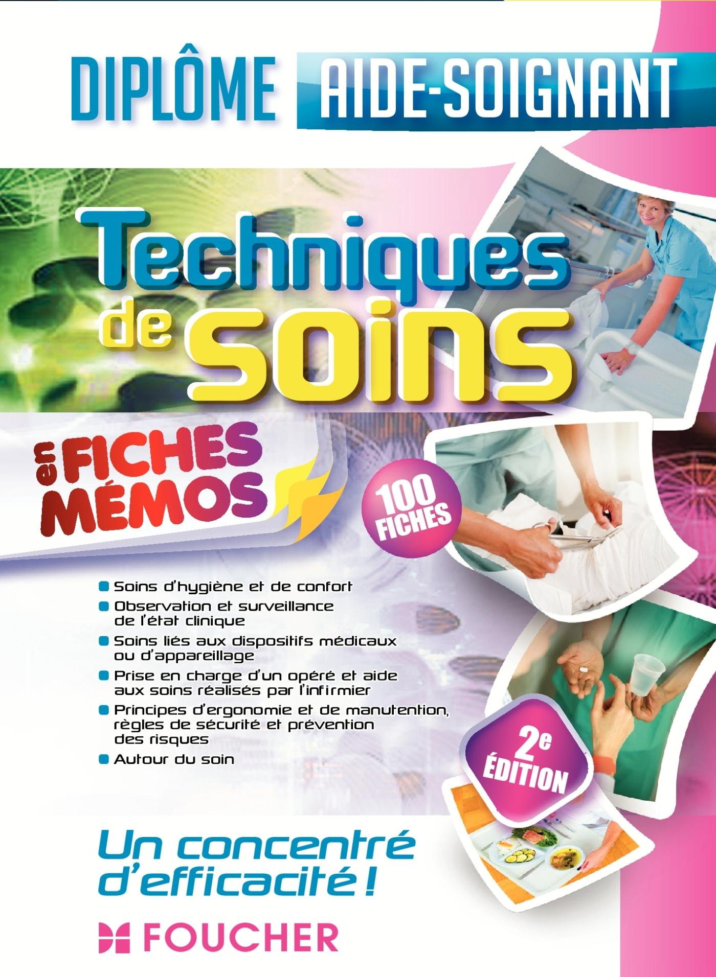 TECHNIQUES DE SOINS - AIDE-SOIGNANT