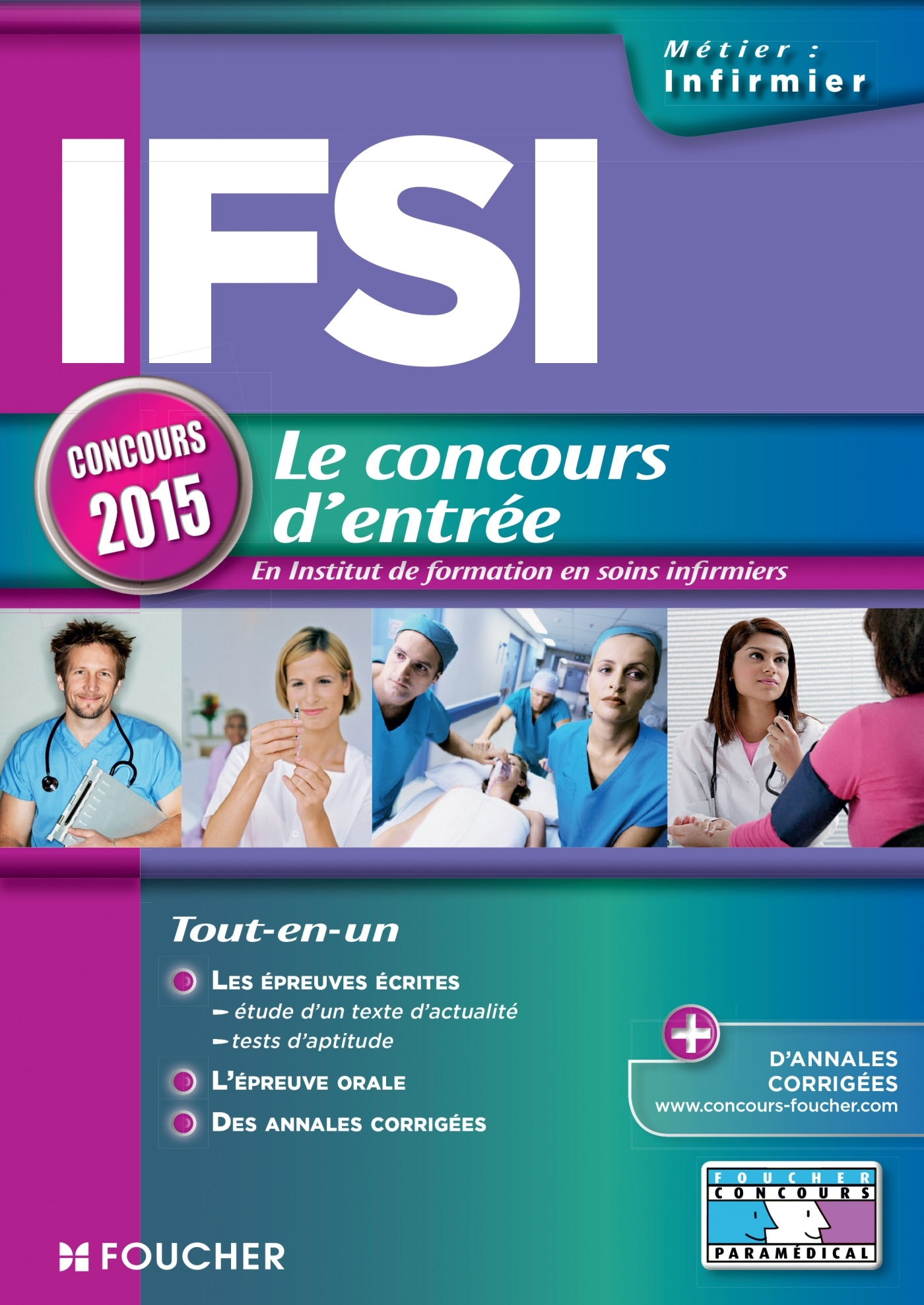 IFSI - CONCOURS D'ENTREE 2015 - N 74