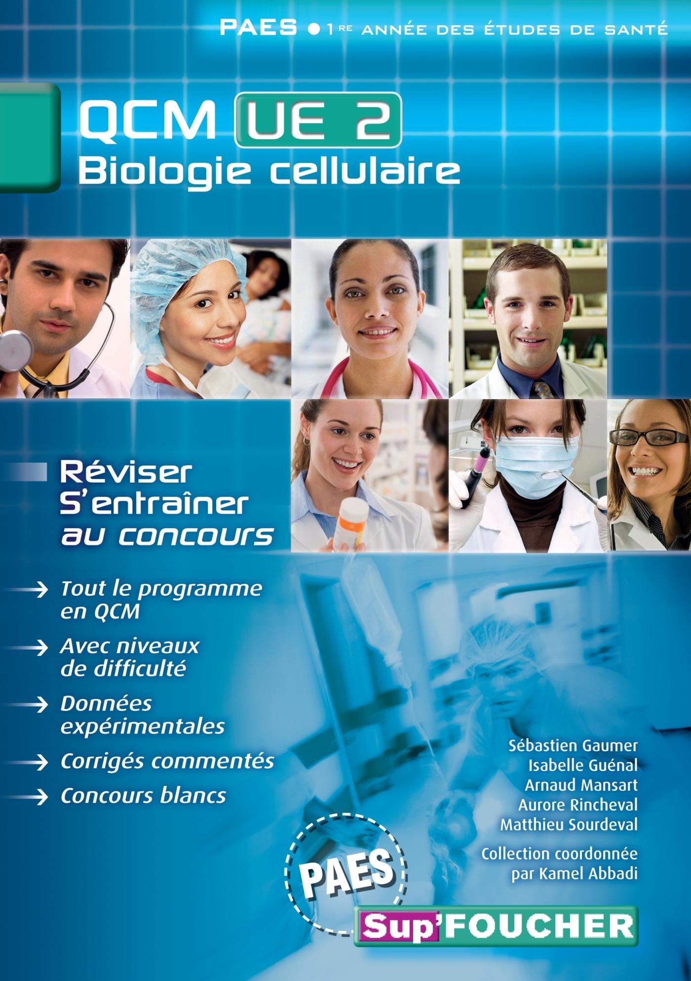 QCM UE2 BIOLOGIE CELLULAIRE