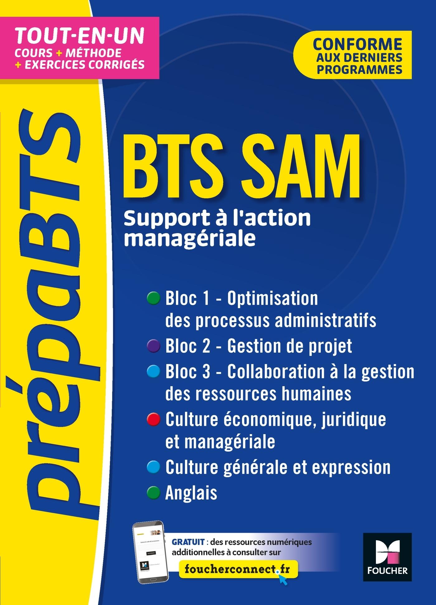 PREPABTS - BTS SAM - TOUTES LES MATIERES - REVISION ET ENTRAINEMENT