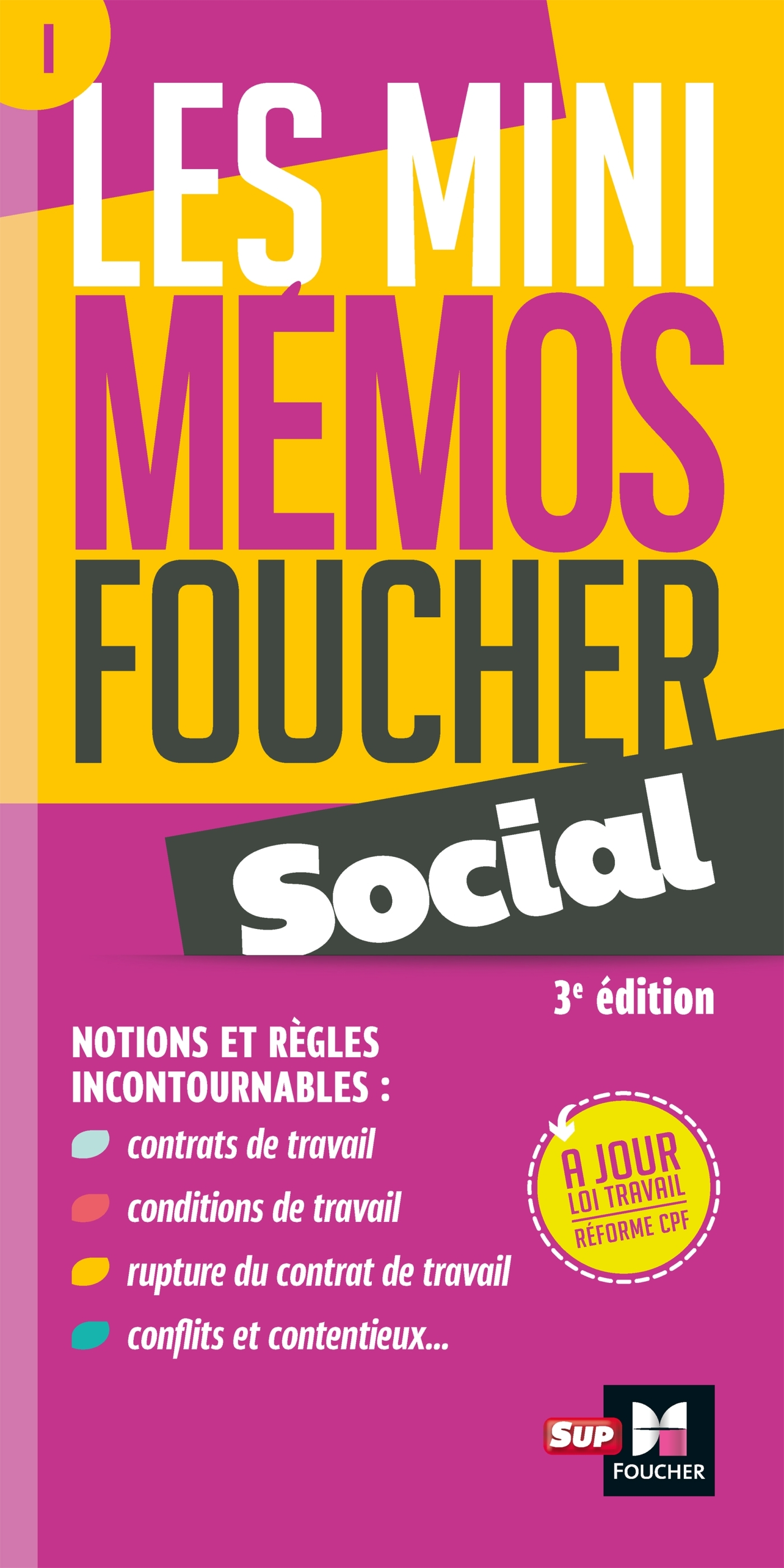 MINI MEMOS SOCIAL - 3EME EDITION - REVISION