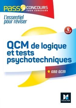 QCM DE LOGIQUE ET TESTS PSYCHOTECHNIQUES CONCOURS FONCTION PUBLIQUE 3E EDITION