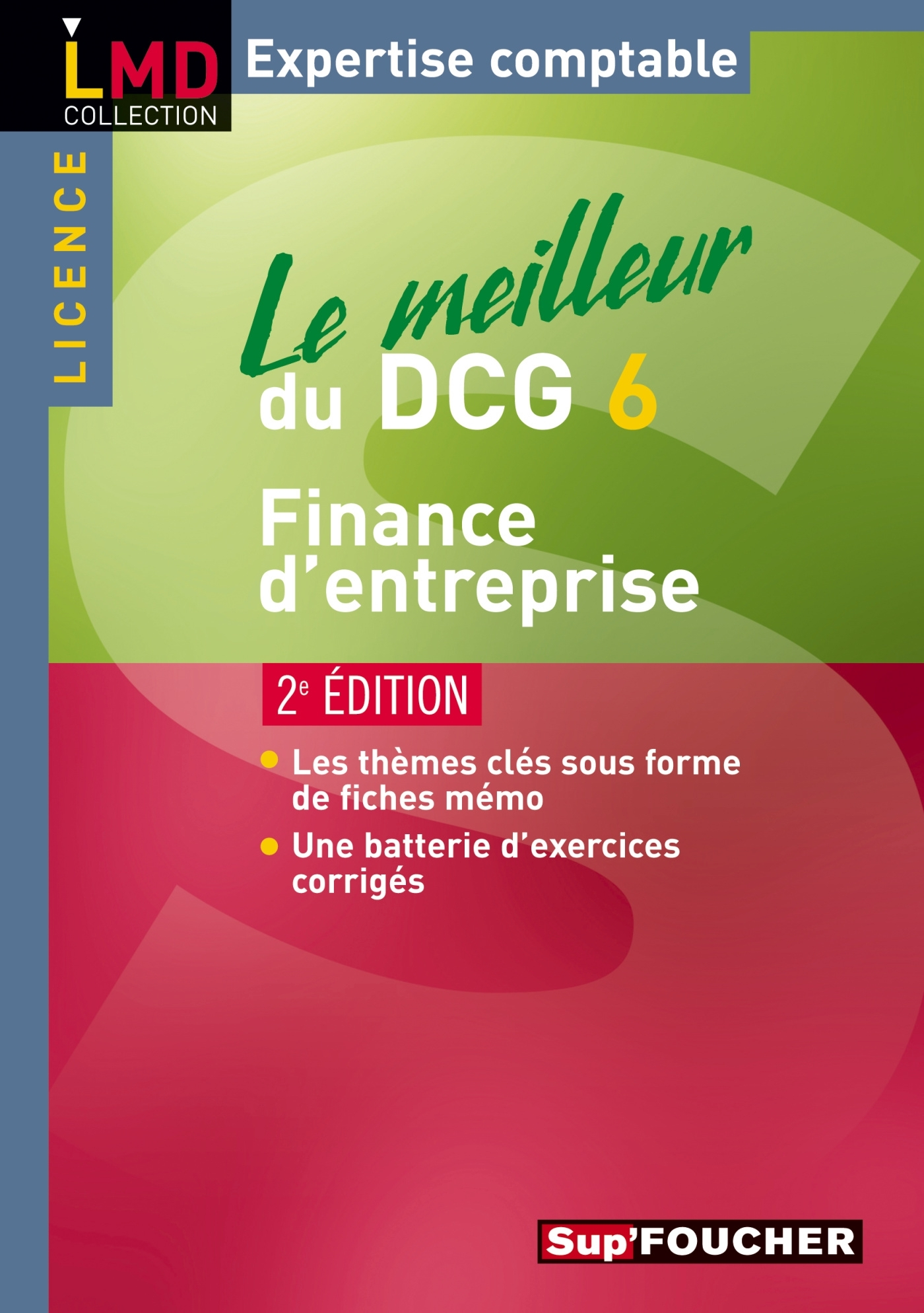 LE MEILLEUR DU DCG 6 FINANCE D'ENTREPRISE 2E EDITION