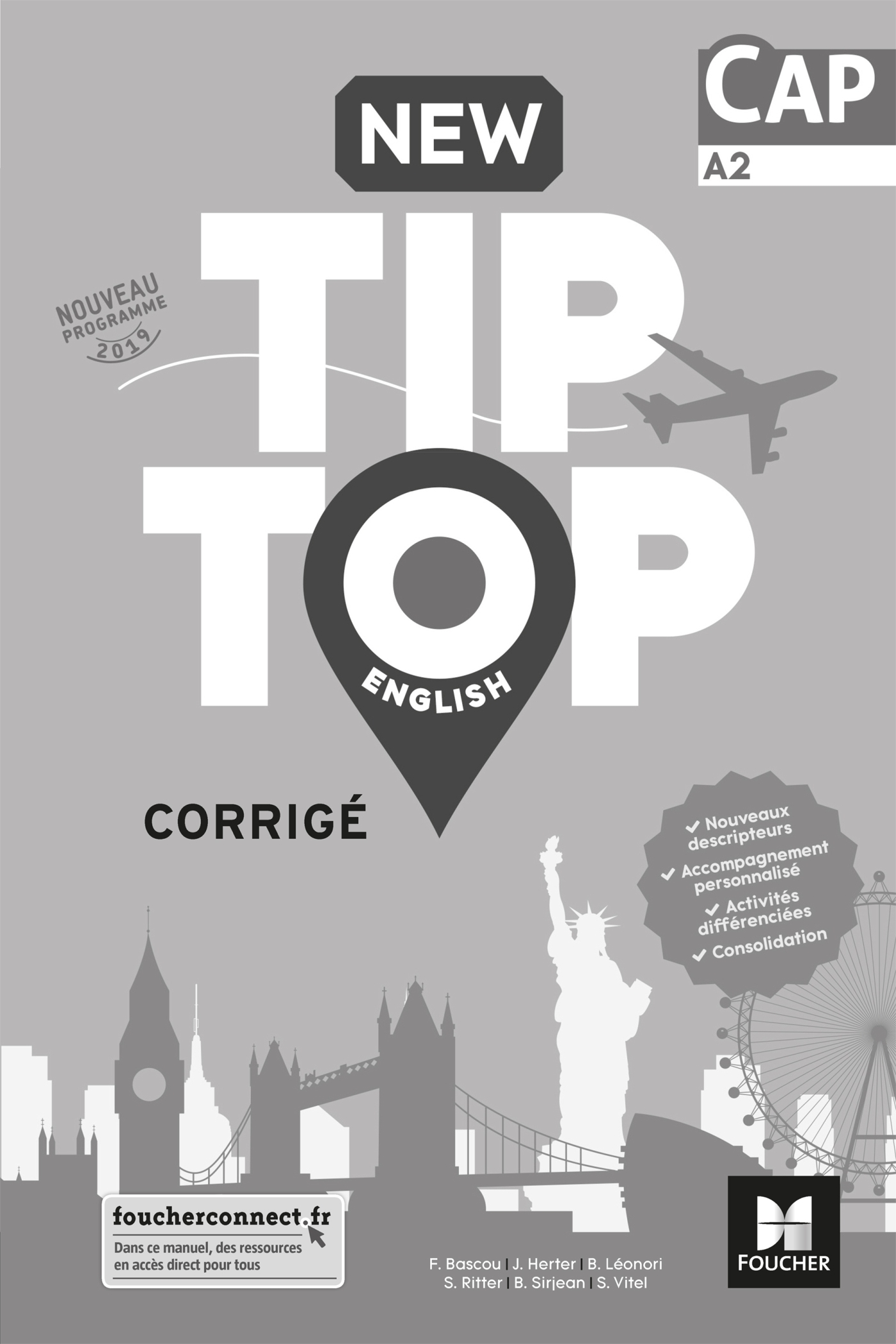 NEW TIP TOP ENGLISH CAP ED. 2019 - CORRIGE
