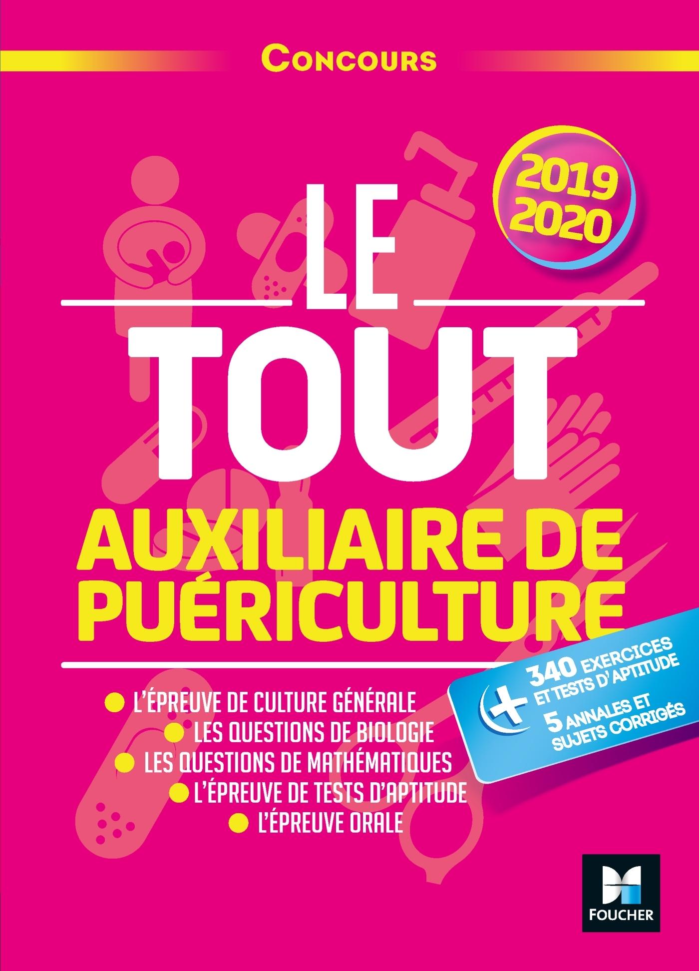 LE TOUT AUXILIAIRE DE PUERICULTURE - CONCOURS AP - 2019-2020 - PREPARATION INTENSIVE