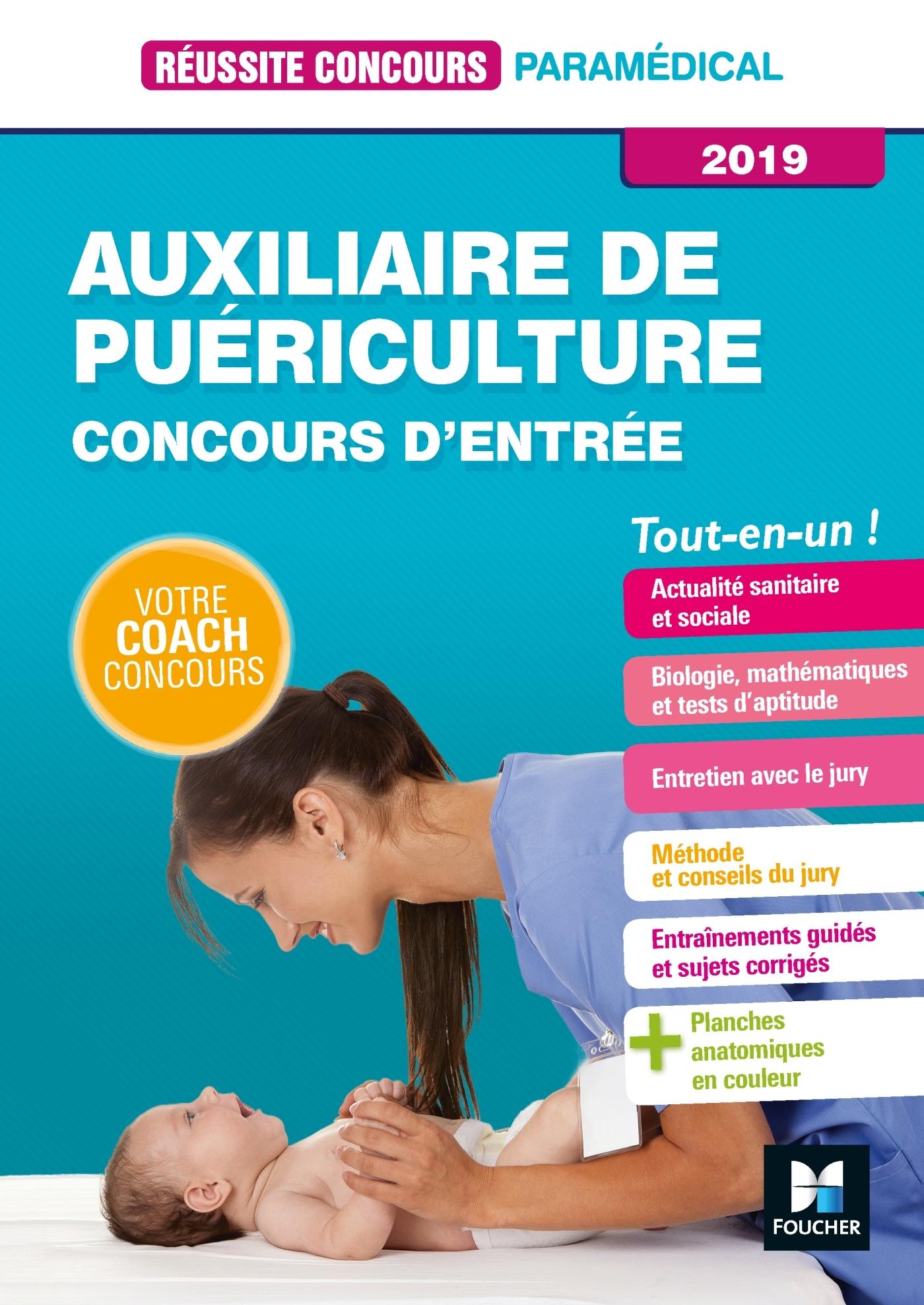 16 - REUSSITE CONCOURS AUXILIAIRE DE PUERICULTURE - AP - ENTREE EN IFAP 2019 - PREPARATION COMPLETE