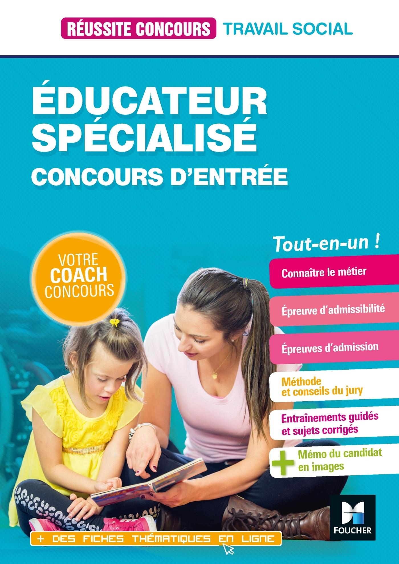 38 - REUSSITE CONCOURS EDUCATEUR SPECIALISE - ES - PREPARATION COMPLETE
