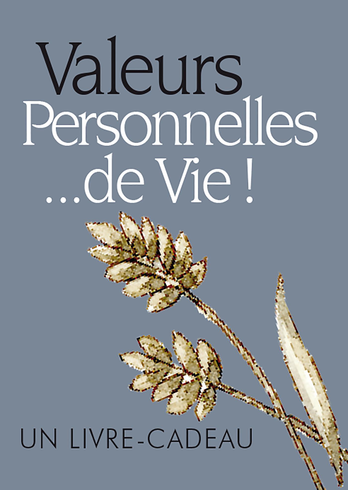 VALEURS PERSONNELLES