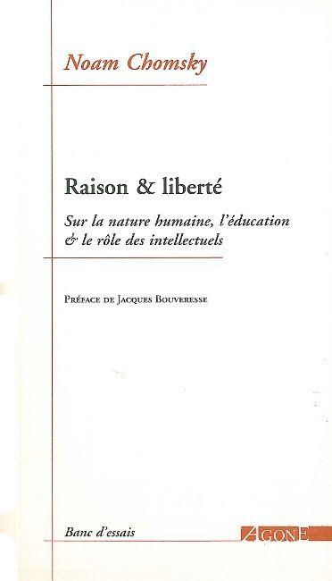 RAISON ET LIBERTE