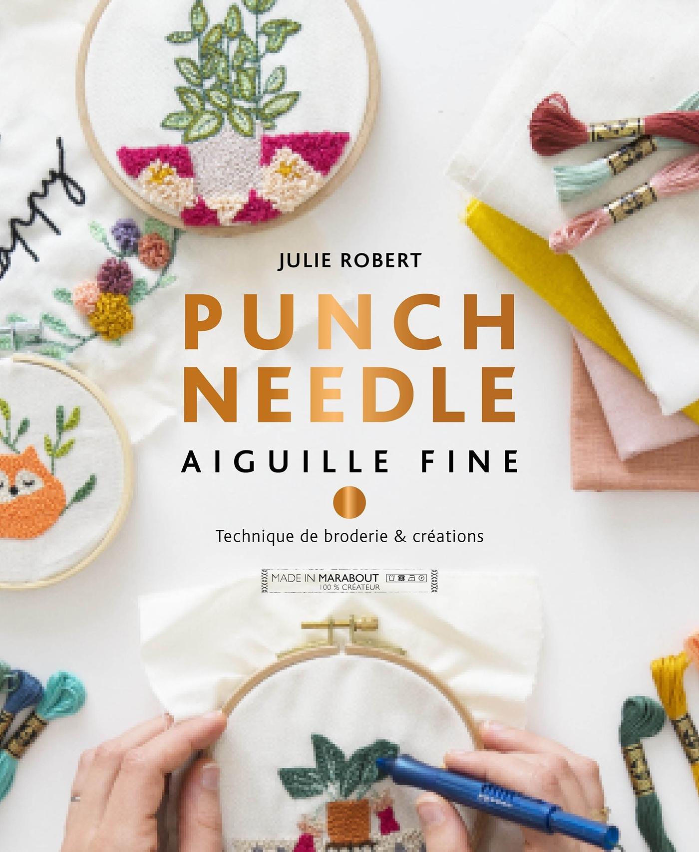 PUNCH NEEDLE - AIGUILLE FINE