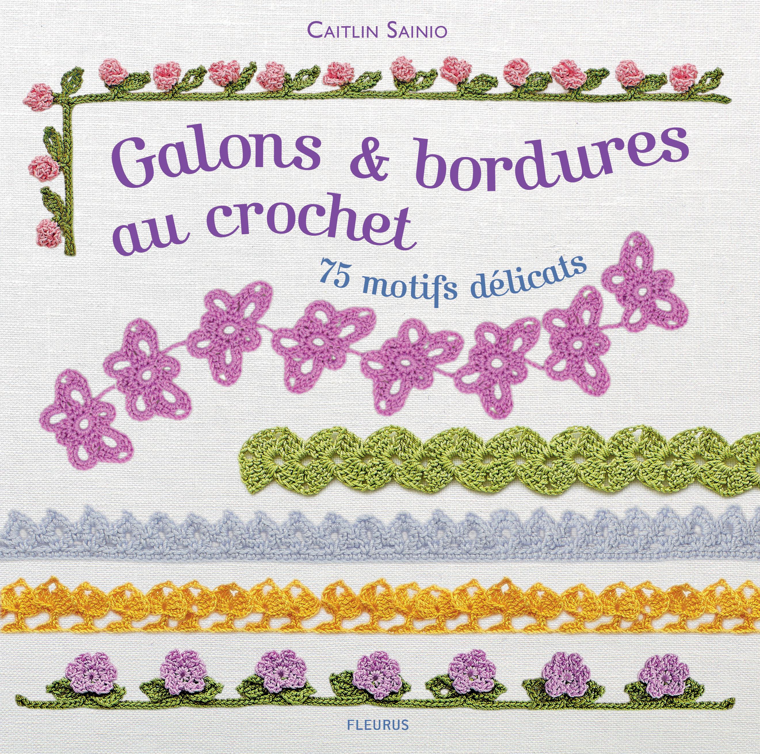 GALONS & BORDURES AU CROCHET