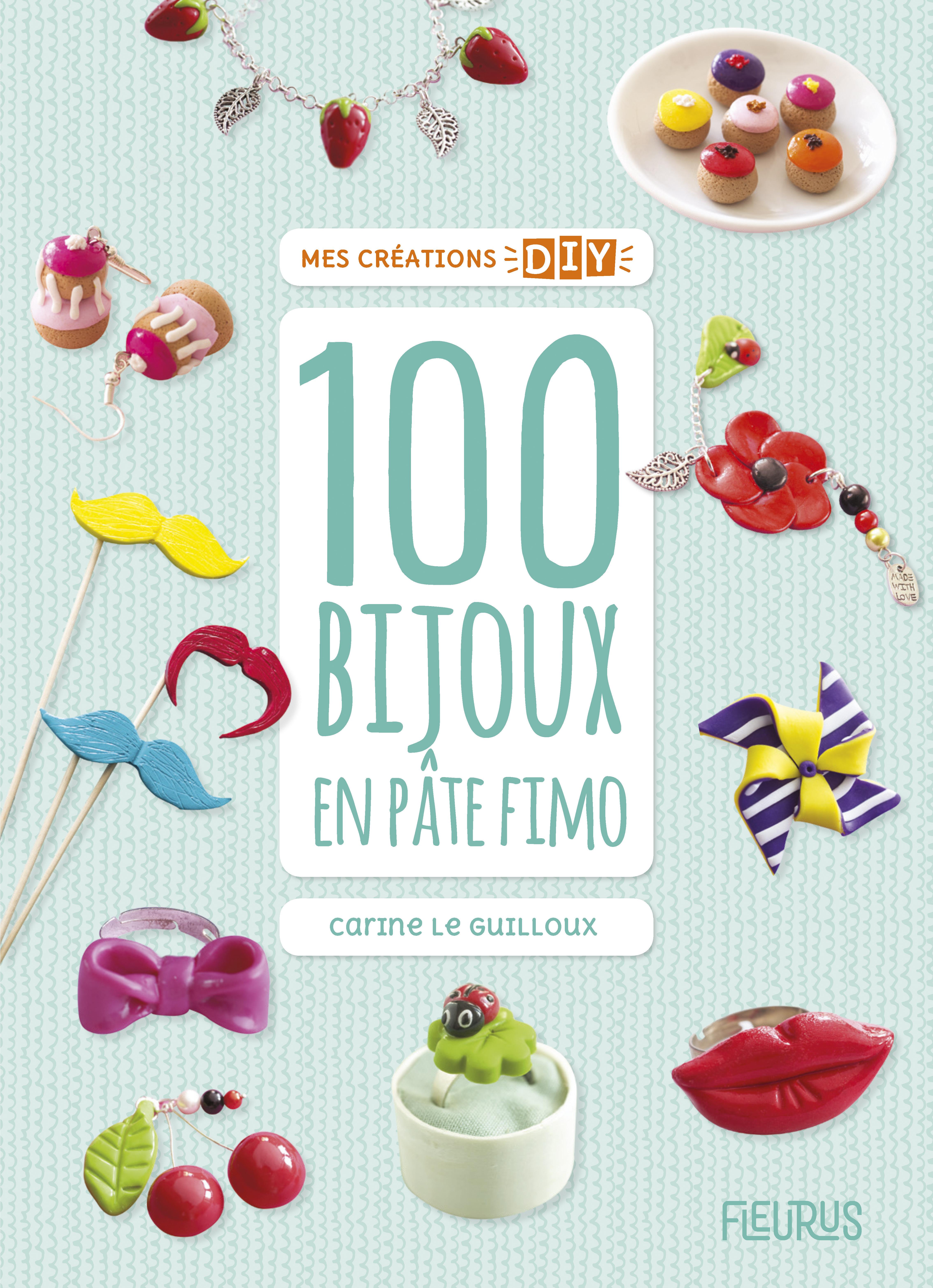 100 BIJOUX EN PATE FIMO