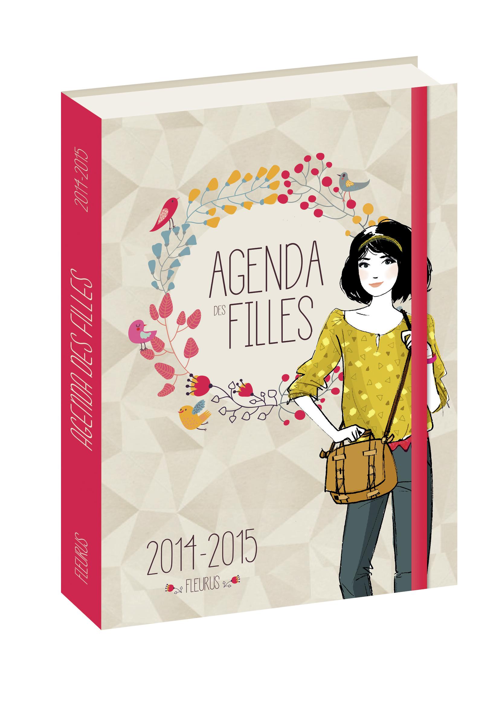 L'AGENDA DES FILLES 2014/2015