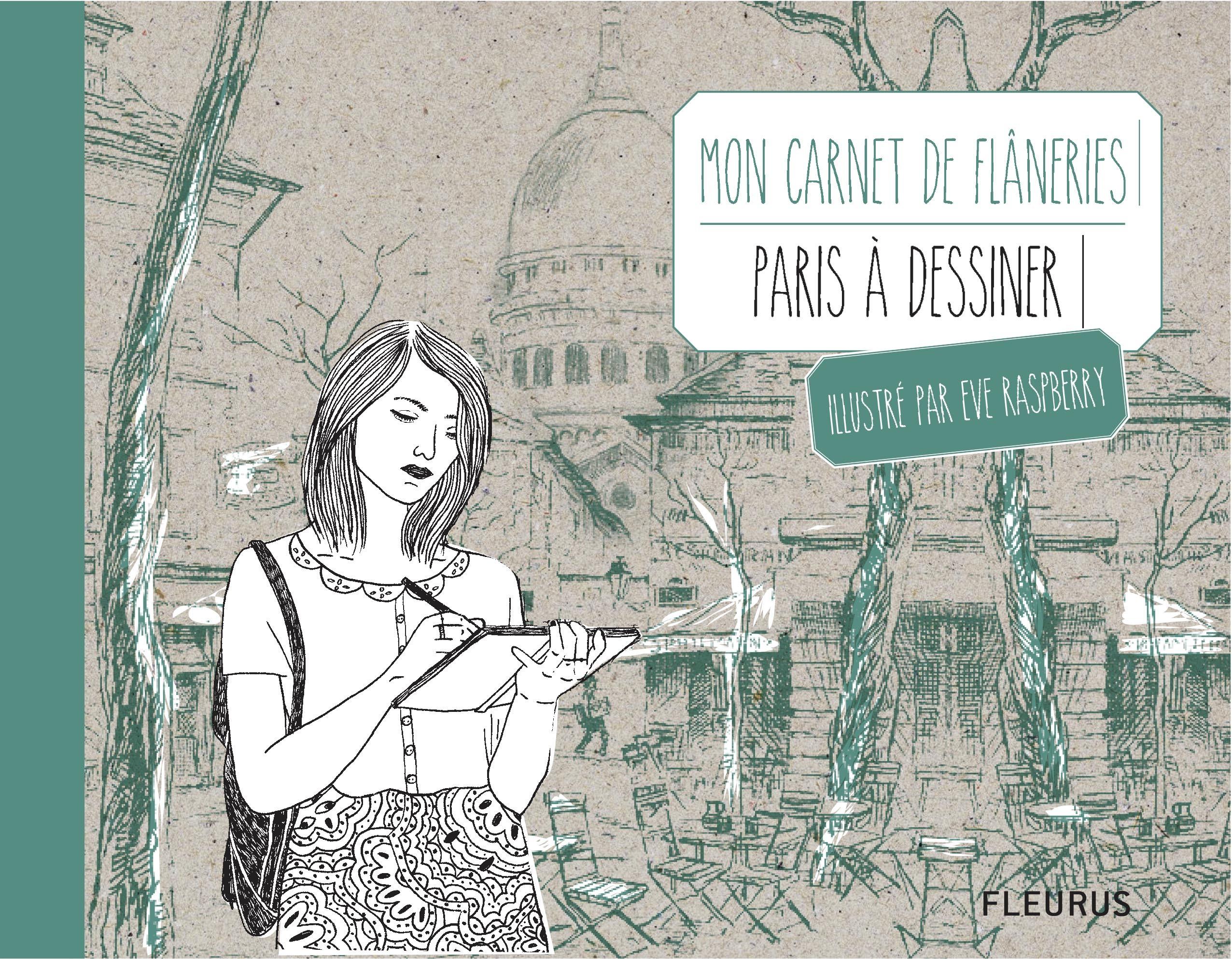 CARNET DE DESSIN FLANERIE A PARIS