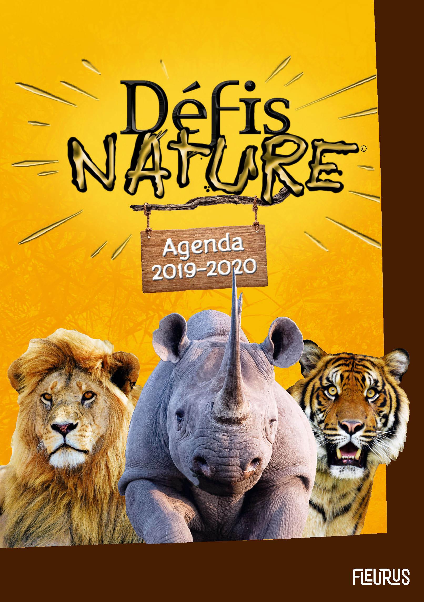 AGENDA DEFIS NATURE 2019-2020