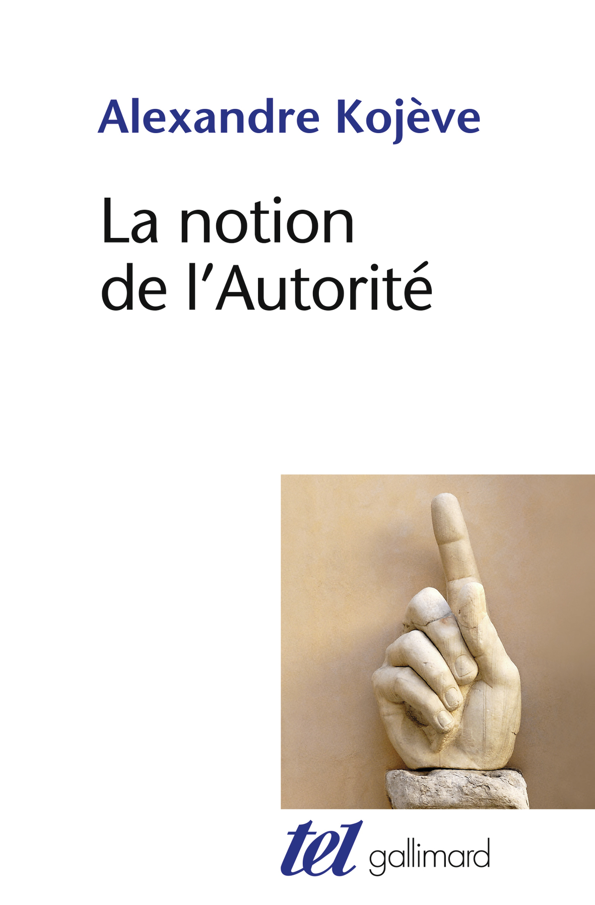 LA NOTION DE L'AUTORITE