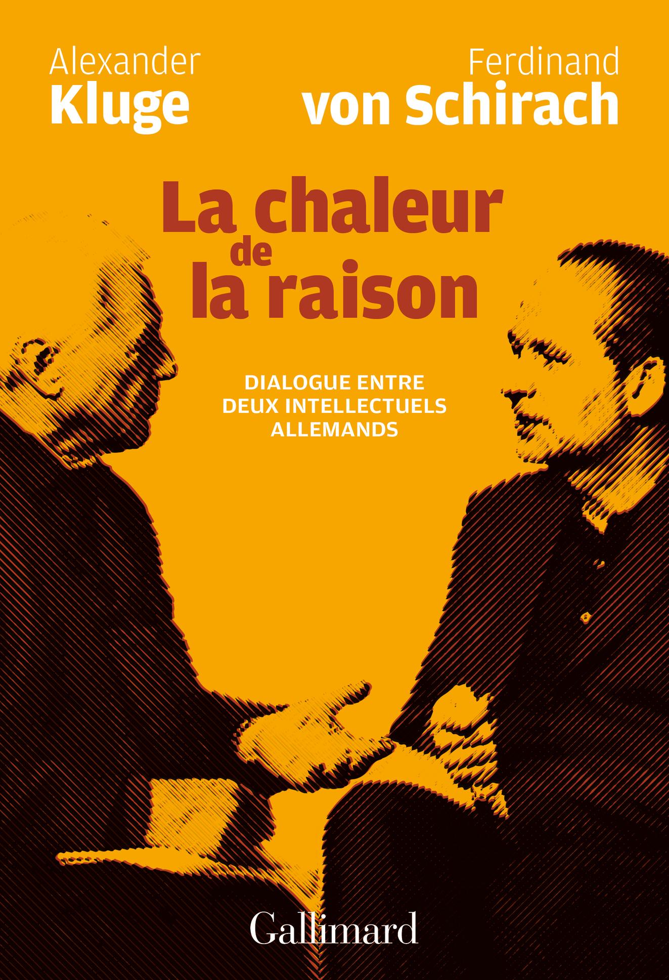 LA CHALEUR DE LA RAISON - DIALOGUE ENTRE DEUX INTELLECTUELS ALLEMANDS
