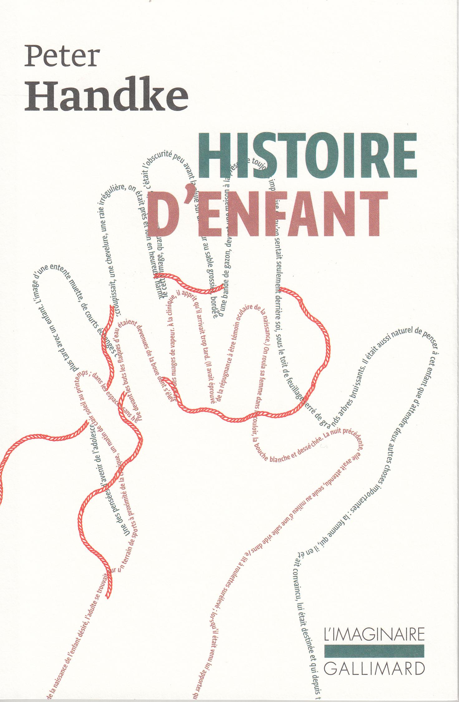 HISTOIRE D'ENFANT
