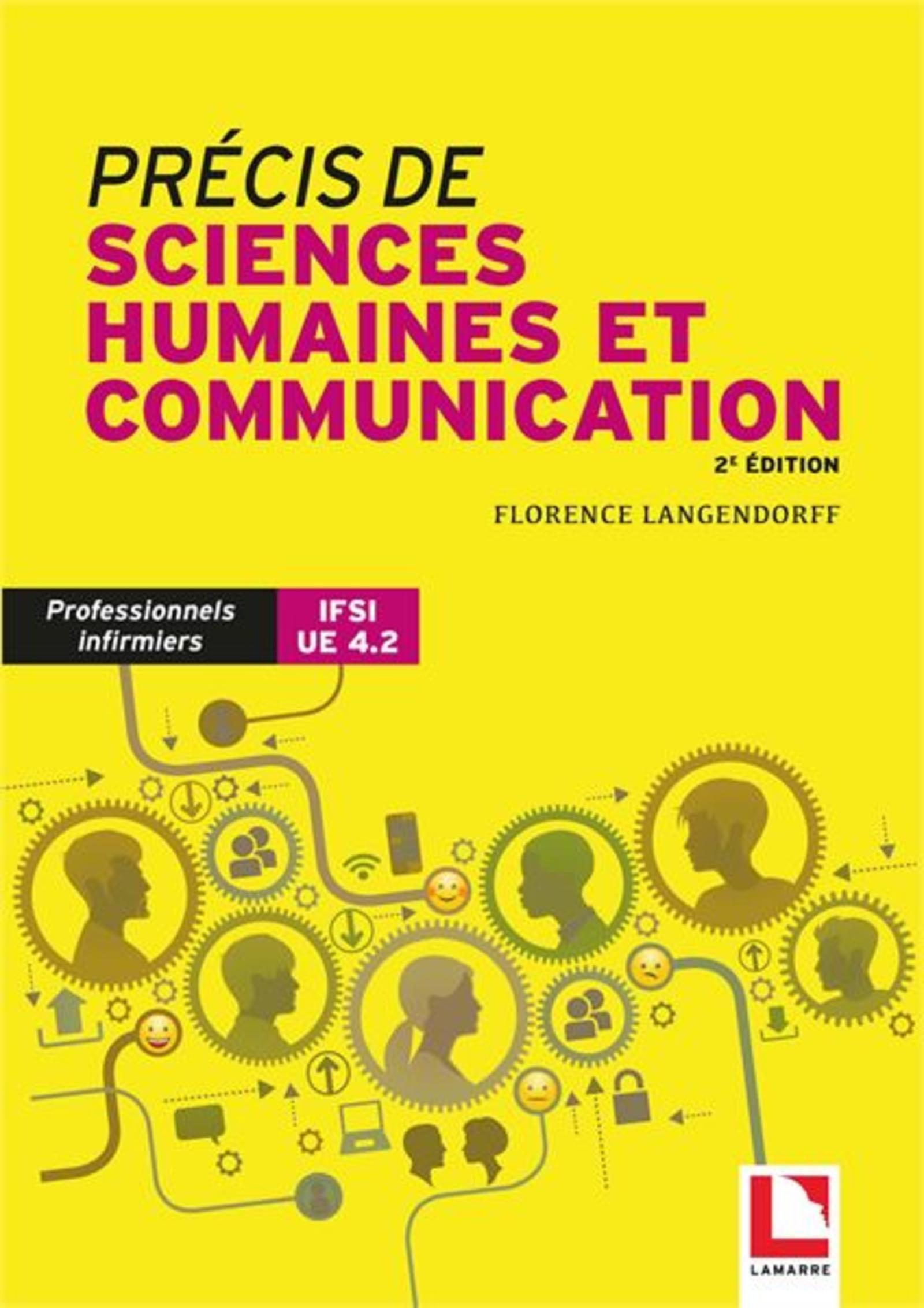 PRECIS DE SCIENCES HUMAINES ET COMMUNICATION - PROFESSIONNELS INFIRMIERS ET IFSI UE 4.2