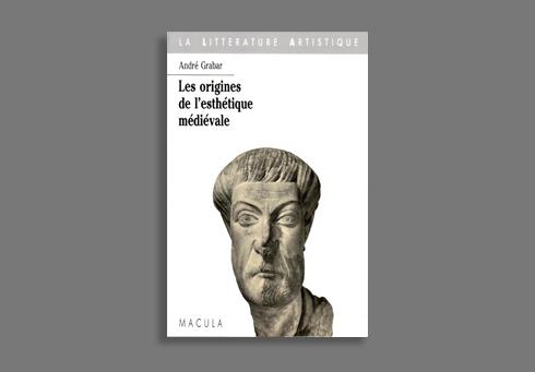 LES ORIGINES DE L'ESTHETIQUE MEDIEVALE