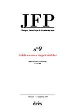 JFP 09 - ADOLESCENCES IMPREVISIBLES