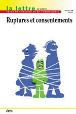 GRAPE 44 - RUPTURES ET CONSENTEMENT