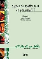 1001 BB 036 - SIGNES DE SOUFFRANCE EN PERINATALITE