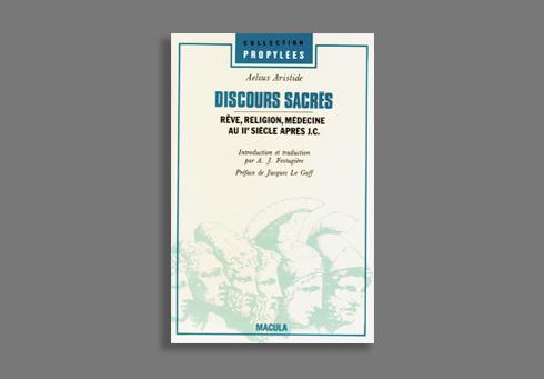 DISCOURS SACRES - REVE, RELIGION, MEDECINE AU IIE SIECLE..