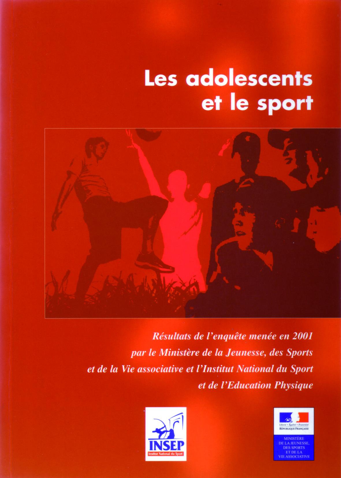 LES ADOLESCENTS ET LE SPORT ENQUETE 2001