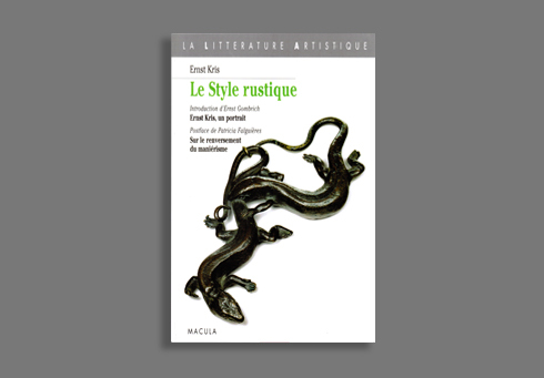 LE STYLE RUSTIQUE - LE MOULAGE D'APRES NATURE CHEZ WENZEL...