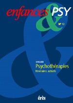 ENFANCES & PSY 012 - PSYCHOTERAPIES